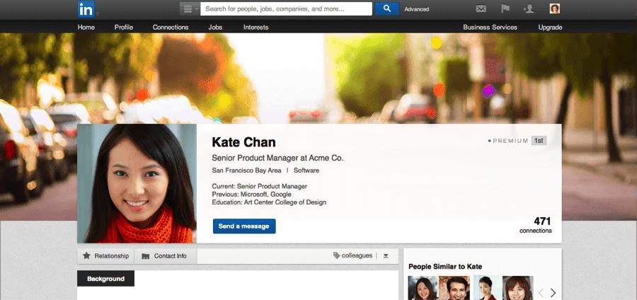 Linkedin Profil Görünümünü Değiştiriyor