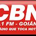 Ouvir a Rádio CBN FM 97,1 de Goiânia Goiás - Rádio Online