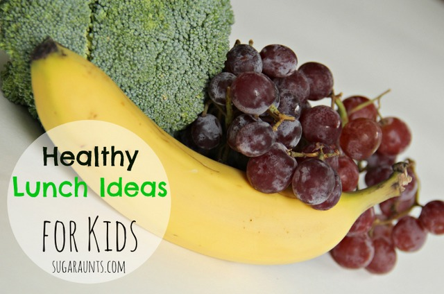 What are healthy lunch ideas for back to school? This link has a bunch of tips!