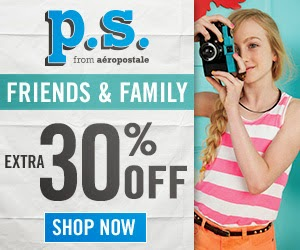 PS Aeropostale Coupons