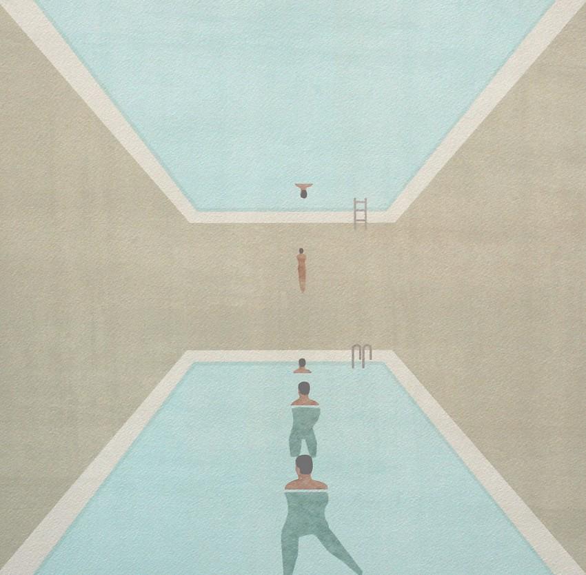 Blue Sutra | Dharma Pool © Jon Koko | Ilustración
