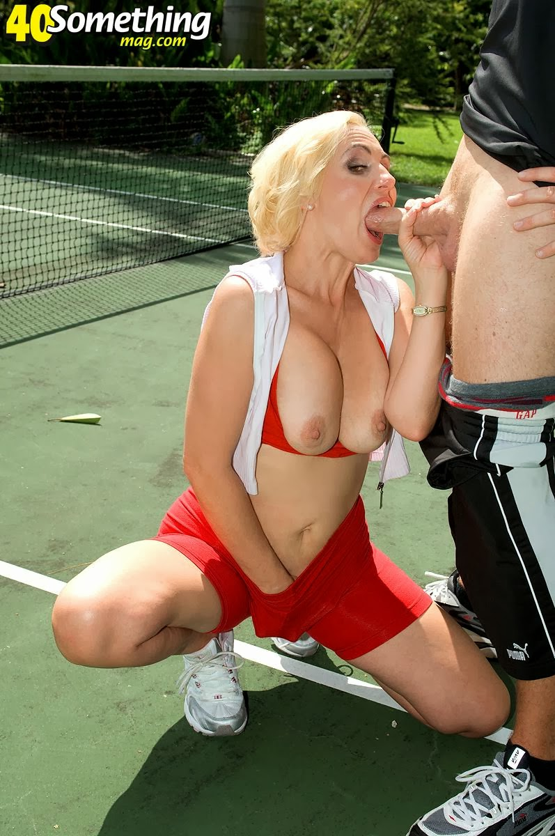 milf and tennis