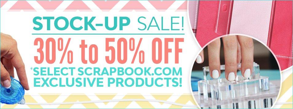 scrapbook.com sale