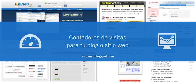 Contadores de visitas para tu blog o sitio web