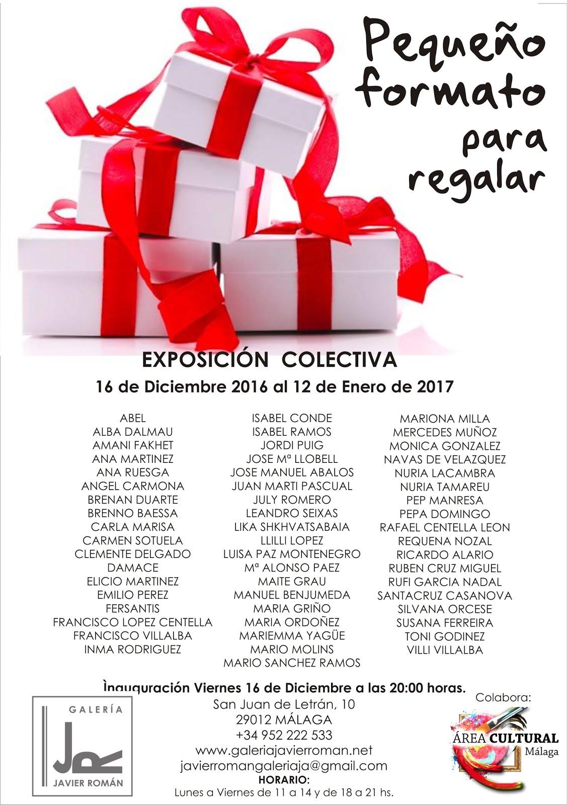Galería Javier Román. Málaga