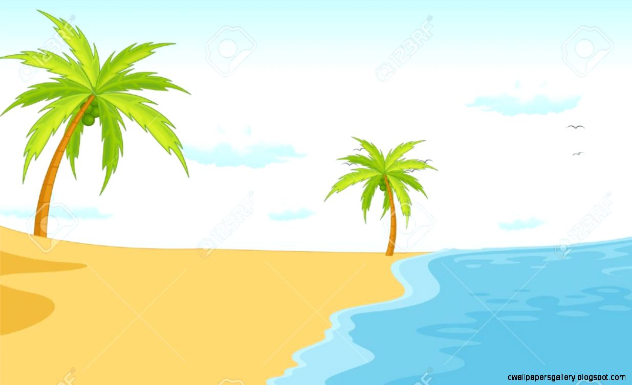 clipart beach scenes - photo #20