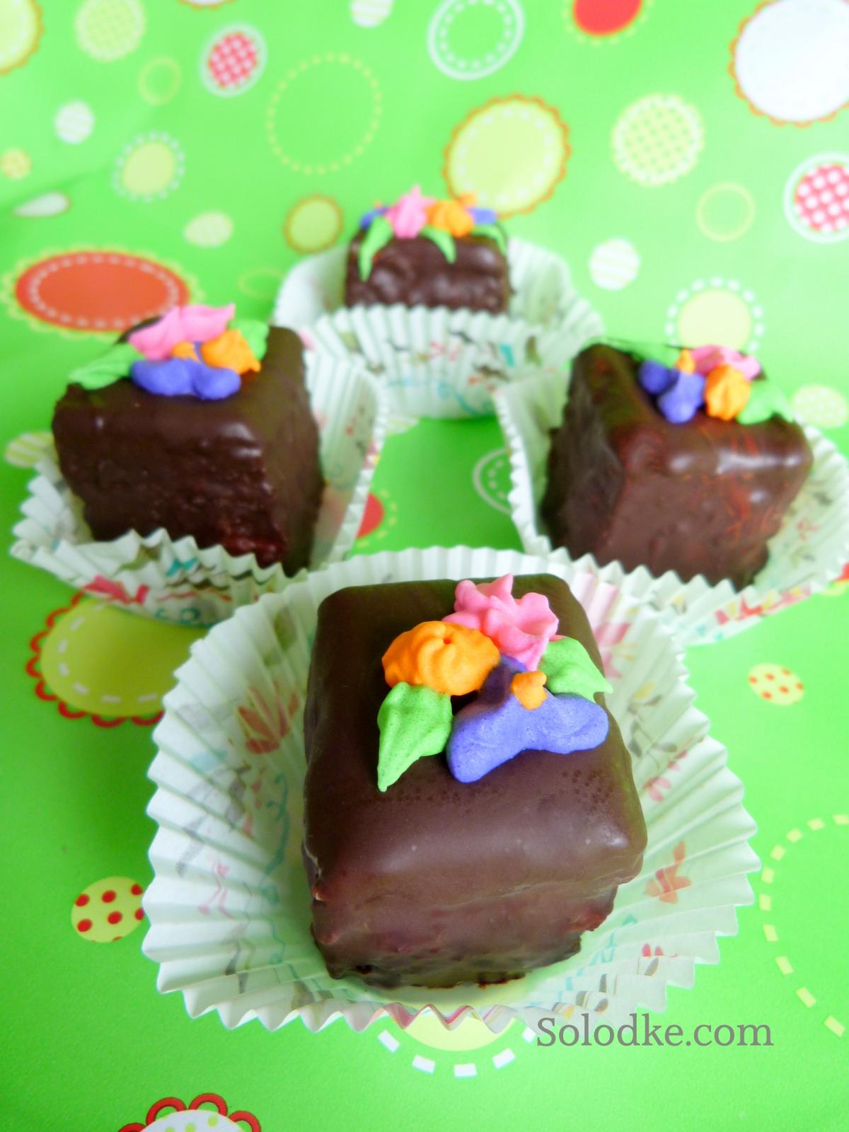 Торт шоколадные коржи рецепт 2