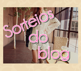 ✿Sorteios do Blog✿