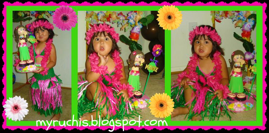 Decoracion Hawaiana Cumplea?os ~ Eventos Decoraci?n de Fiesta Hawaiana  Eventos Sweet Myruchis