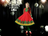 Anarkali Frock Collection 2014