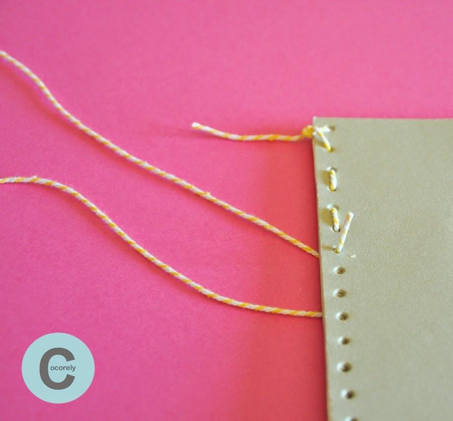 Extrêmement Les Fåntåisies de Cocorely: Un carnet à coudre (DIY) LF06