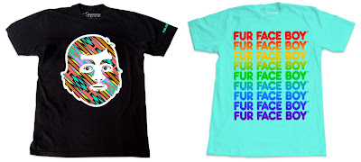 Fur Face Boy 2011 Summer T-Shirt Series - FFB Native & Summer Typeface T-Shirts