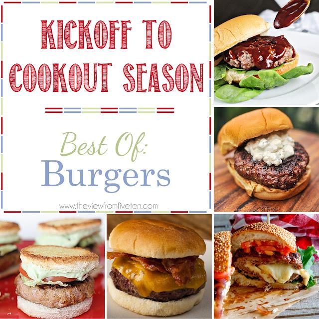 burger #recipe ideas :: kickoff to cookout season