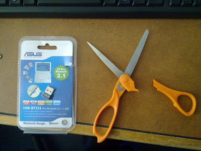 plastic package broke scissors hard to open