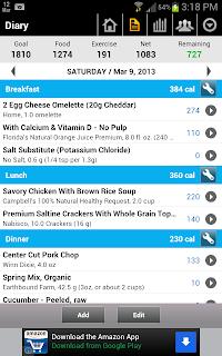 MyFitnessPal Food Diary image
