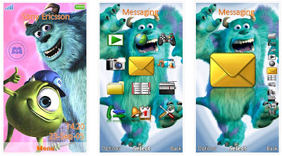 怪獸電力公司SonyEricsson手機主題for Aino﹝240x432﹞