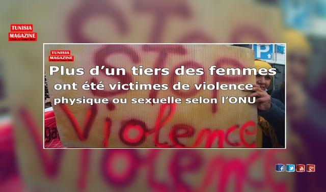 Plus d'un tiers des femmes ont été victimes de violence physique ou sexuelle selon l'ONU