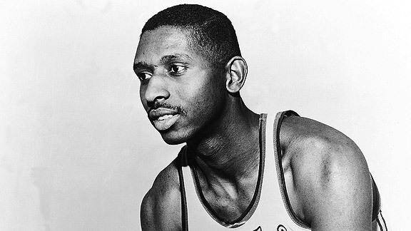 first black basketball player