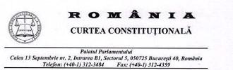 † CCR confirmă oficial că inițiativa de revizuire a Constituției îndeplineşte condițiile legale