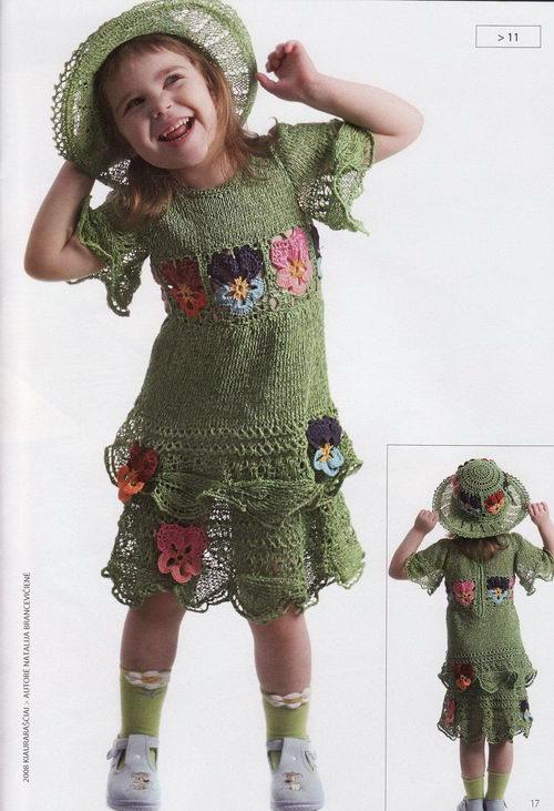 Virbalais megztos kepures mergaitems