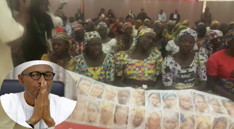 President Buhari Angrily Storms Out Of Meeting With BBOG Parents