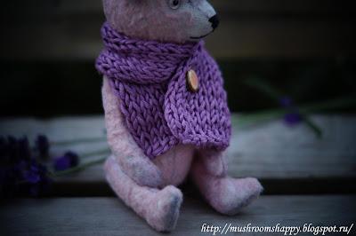 warm scarf, teddy, Ice, blue ice