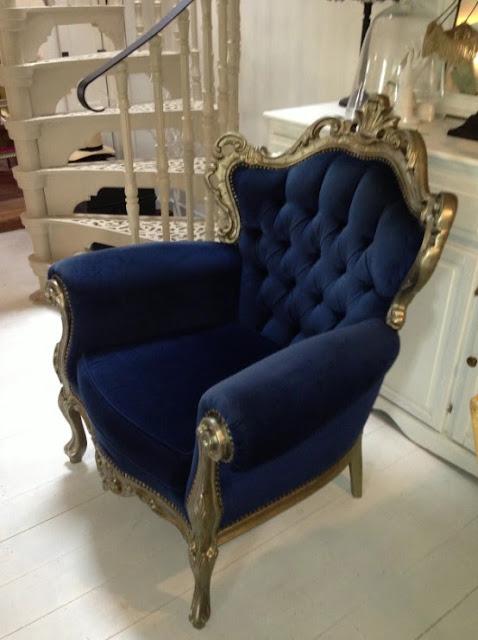 vintage velvet chair ghost furniture