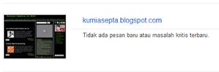Daftarkan Sitemap Blog ke Google Webmaster Tools