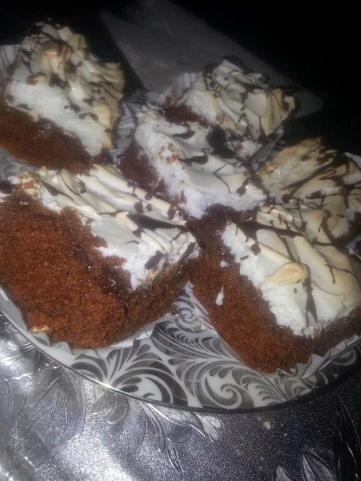 Recette du gâteau meringué