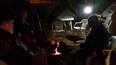 Campfire at Sukkot 2015