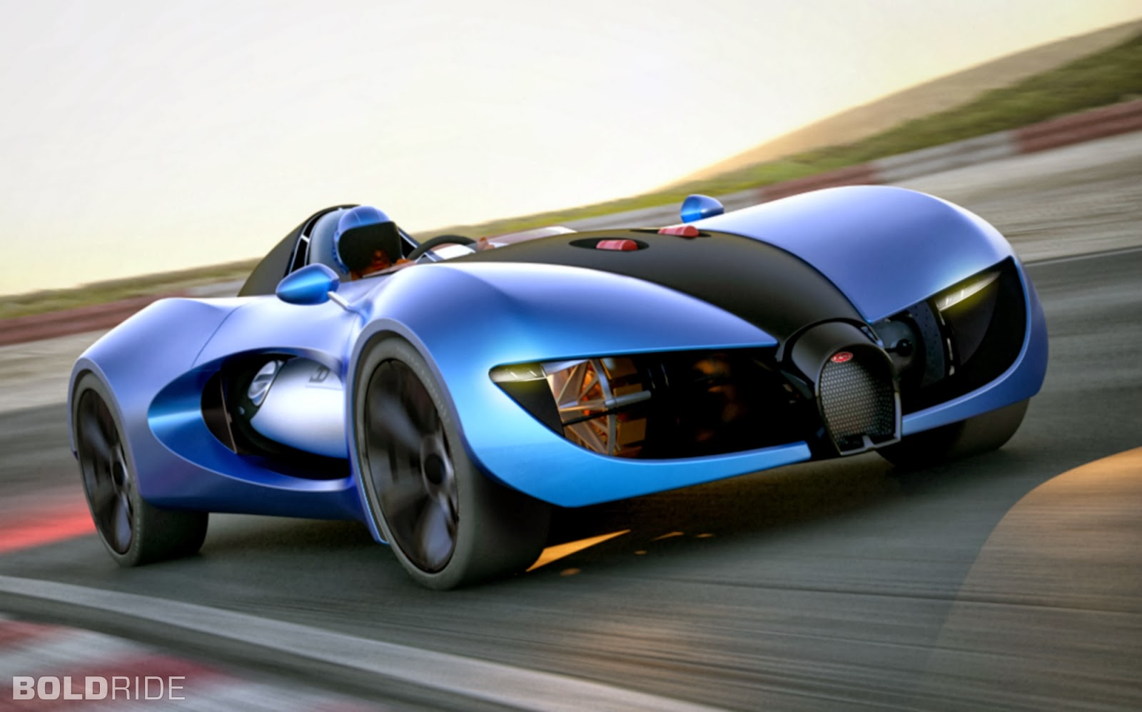 Bugatti Type Zero concept car of the future - Mycarzilla