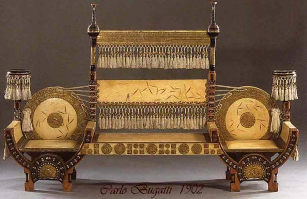 Adalingo lo stile liberty botteghe lombarde di ferruccio - Art nouveau mobili ...