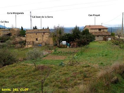 Vista de conjunt del Raval del Clot