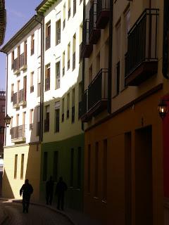 Detalle de la calle Herrer y Marco de Calatayud