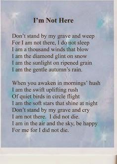 vackra dikter om sorg