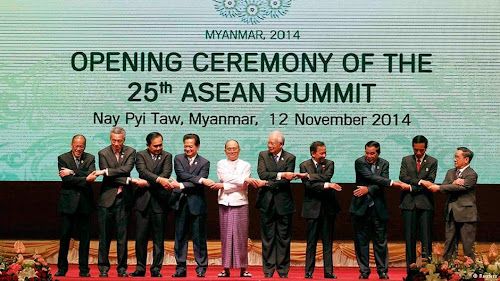 Asean Summit, Myanmar 12 Nov. 2014