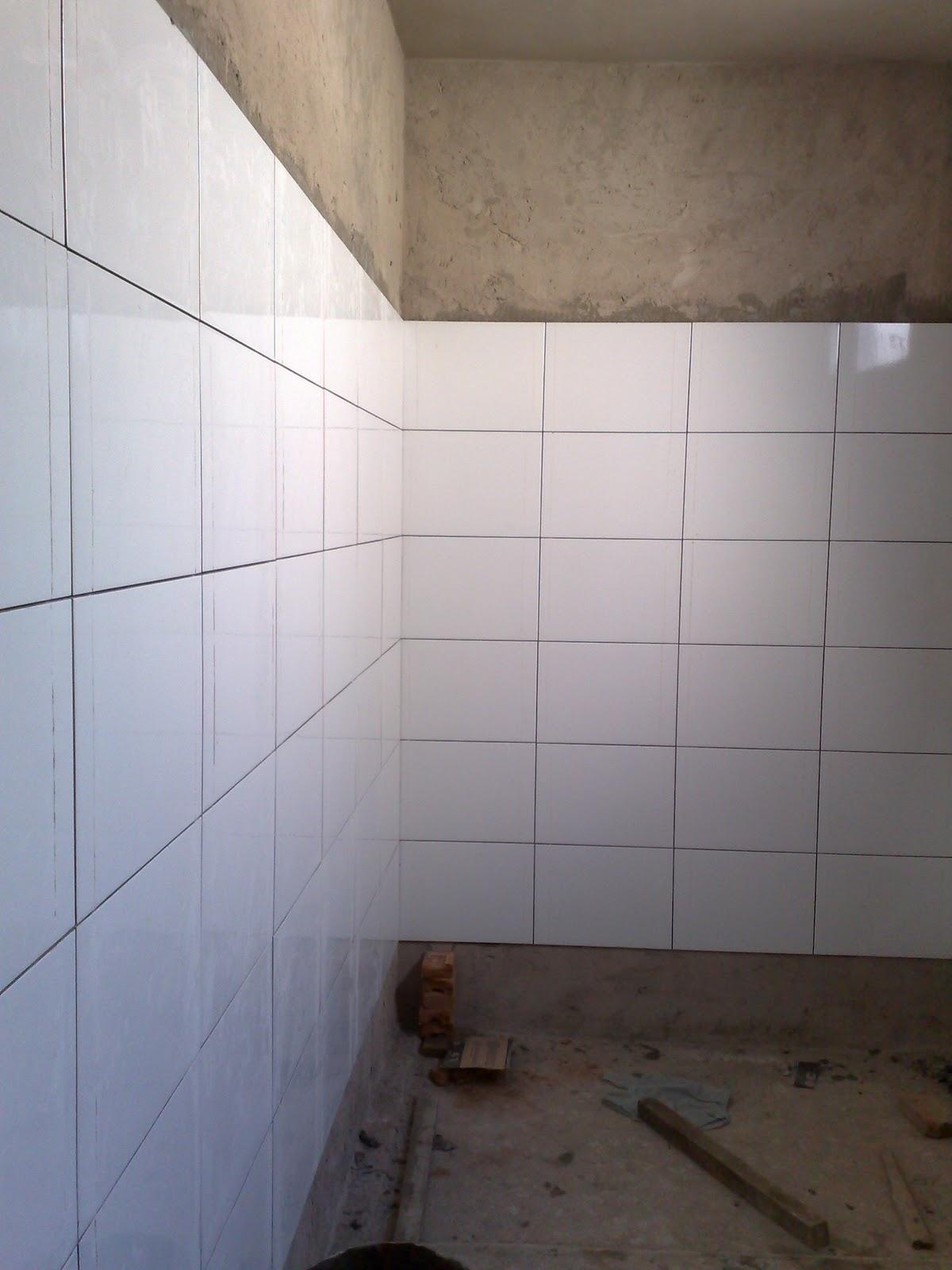 Passo a passo da construção da minha primeira casa: banheiro #7E664D 1200 1600