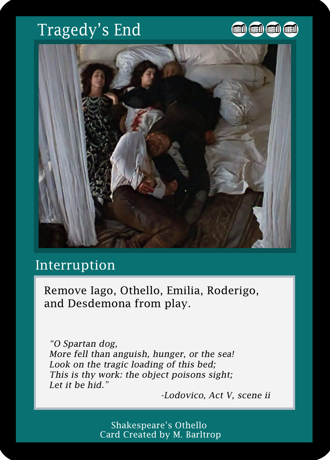 othello a tragedy without meaning