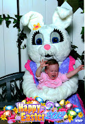 Luke loved the Easter Bunny this year and was so excited about getting to . luke's easter bunny pic