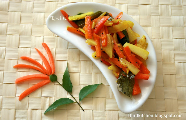 how to make indian carrot pickle