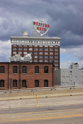 Image of the Western Auto sign a signature attraction of Kansas City