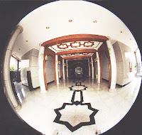 inside Jame'Asr Hassanil Bolkiah Mosque