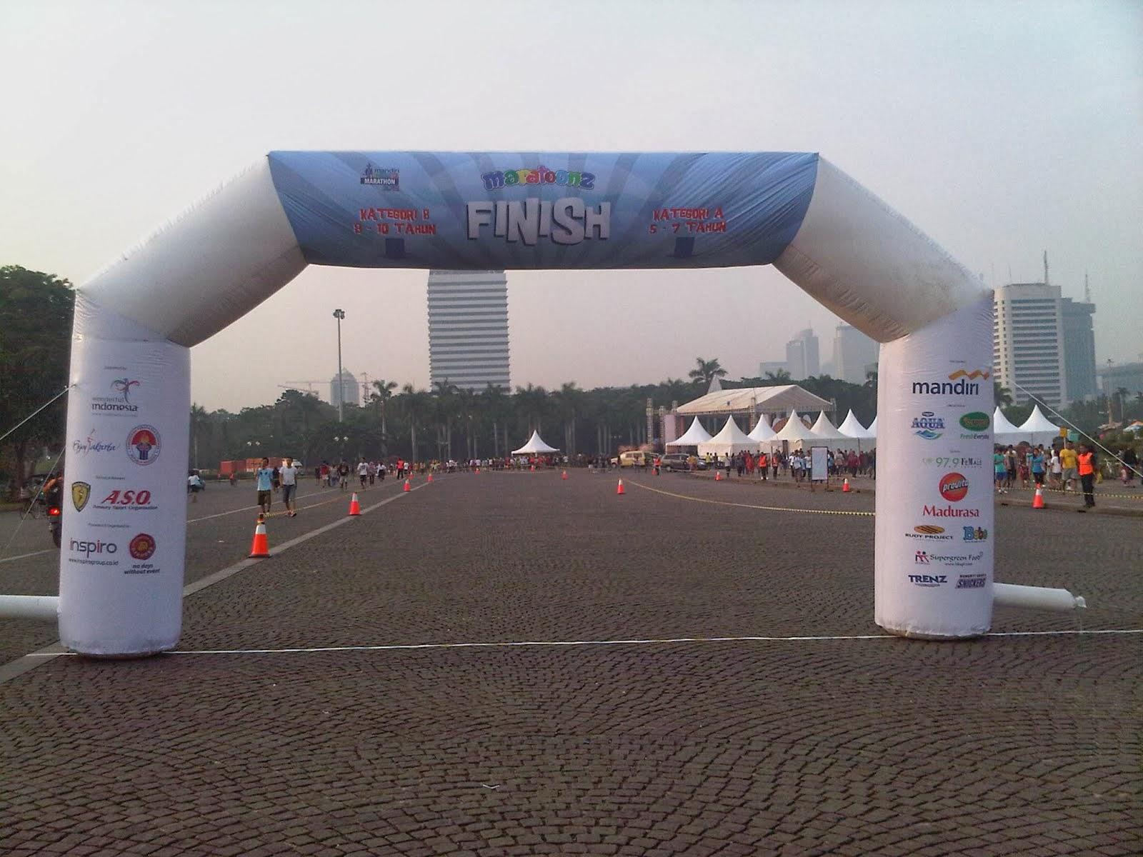 Balon Gate Jakarta Maratoonz