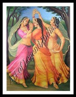 Danceing ladys