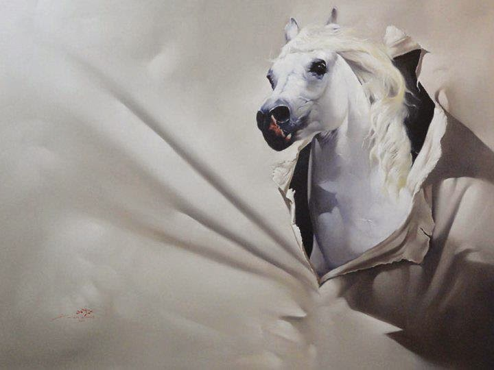 Artist Omar Al-Shihabi