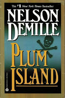 Book cover of Plum Island by Nelson DeMille (John Corey audiobook)