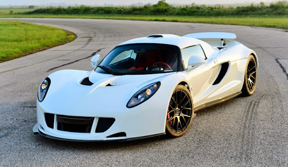 Gambar Mobil Sport Hennessey Venom GT Terbaru