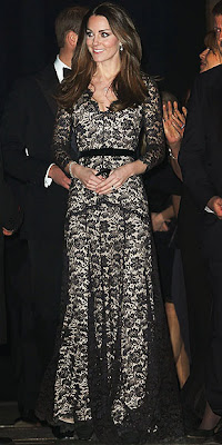 Kate Middleton, gown, red carpet