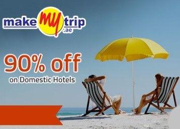 Makemytrip Hotel Sale (upto 90%)