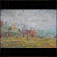 """Иван Крутояров """"Прощание с родиной"""" 1988"""